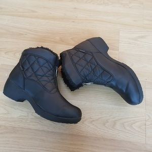 Sporto black winter booties size 7.5